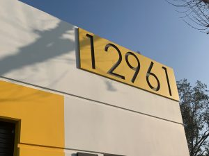 Unique Address Numbers to draw attention