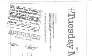 Approval for a permit
