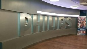 After Philips Lobby Sign