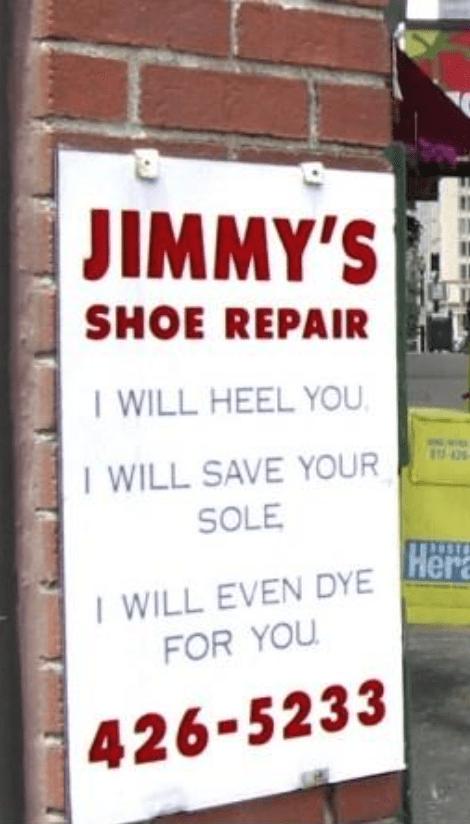 Jimmys shoe store