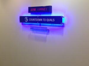 Lobby Sign Genentech Acrylic Shaping