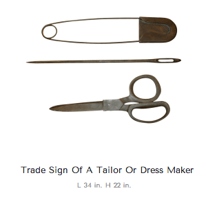 tailor-signs and symbols