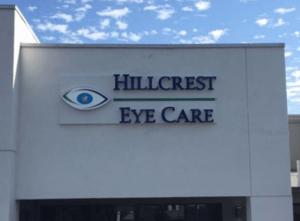 Channel Letter Hillcreast Eye Center