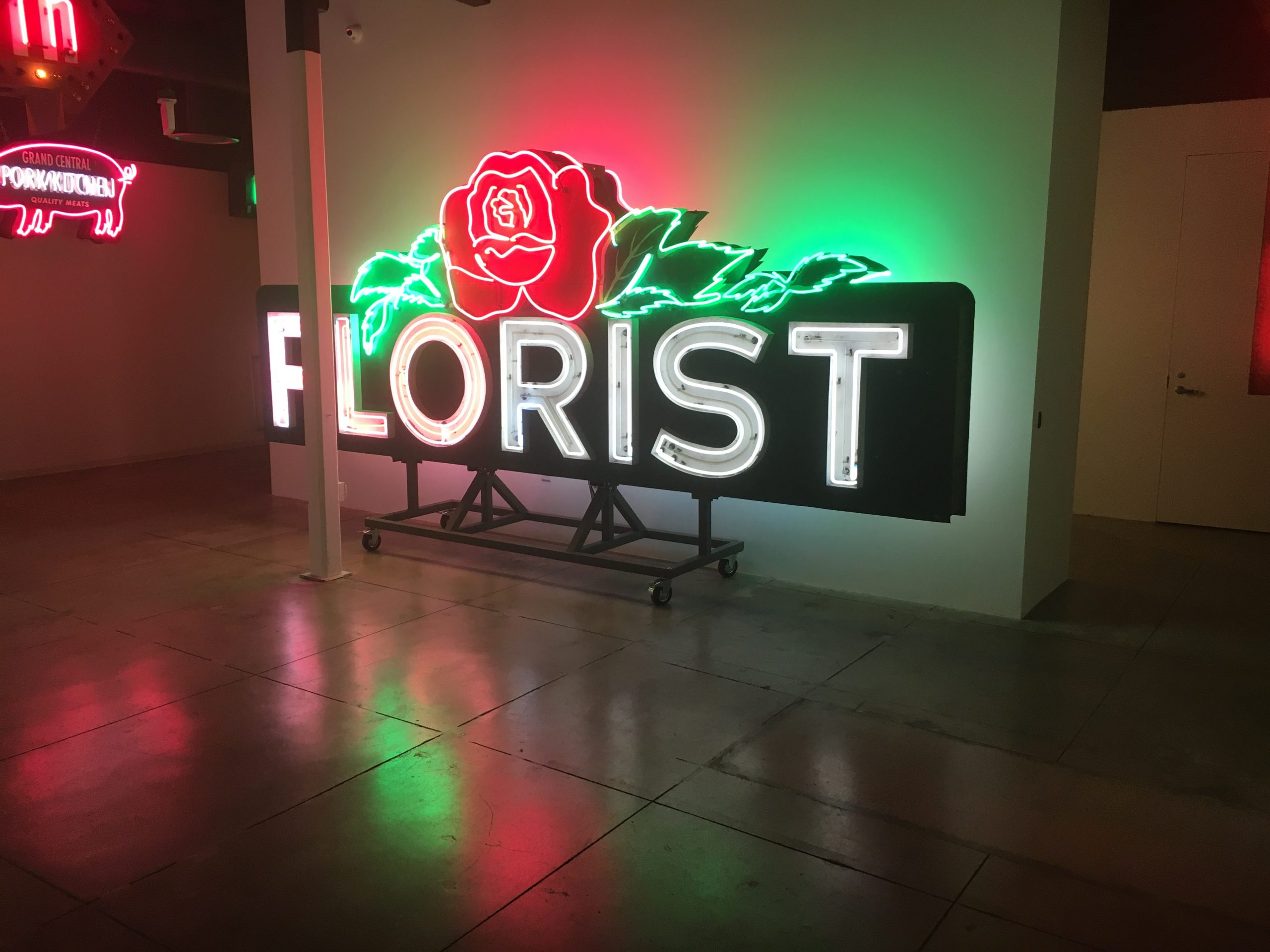 classic old neon sign