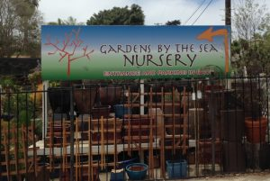 Similar nursery down the road uses us for a post and panel sign