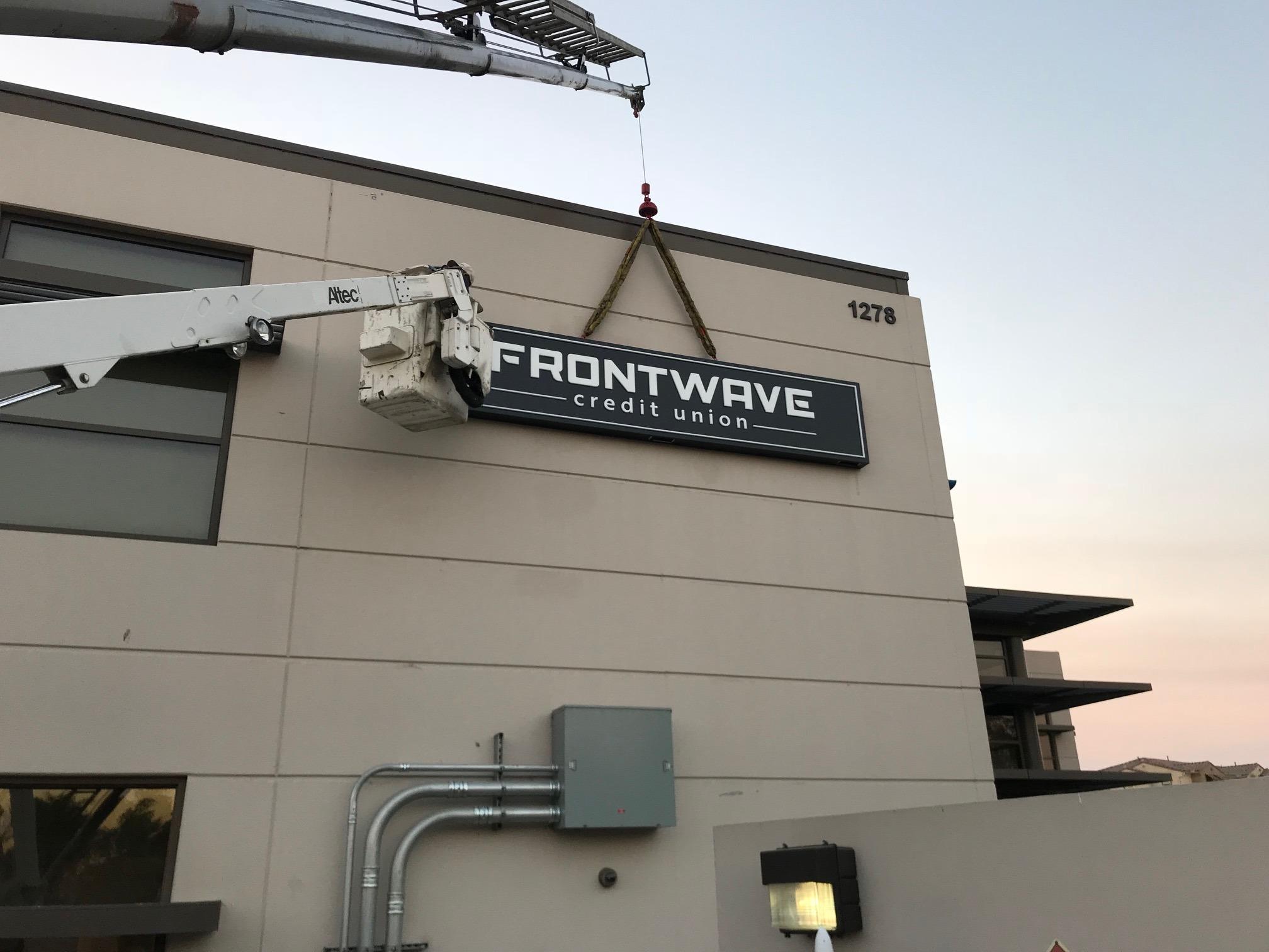 Installing a Frontwave Channel Letter Set