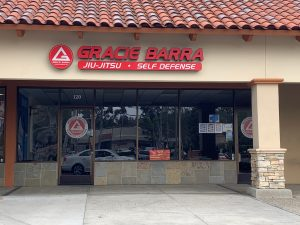 Channel letters for Gracie Barra