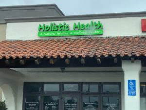 Channel Letter Set for Holistic Health